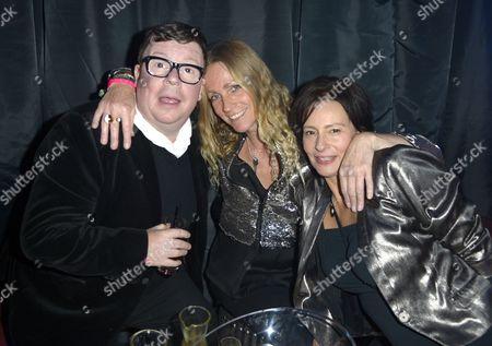 Perry Benson, Caroline Stasfeild and Guest