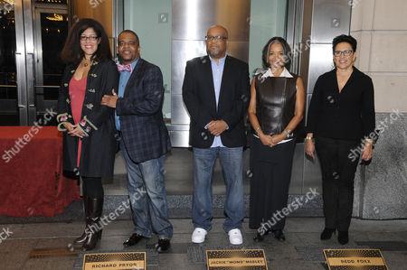 Editorial image of Apollo Walk of Fame, New York, America - 01 Oct 2015
