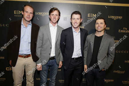 Hardin Towell, Ben Maher, Scott Brash and Kent Farrington