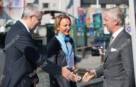 Pieter Timmermans, Michele Sioen, King Philippe