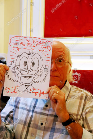 Editorial picture of Don Rosa in Vienna, Austria - 01 Oct 2015
