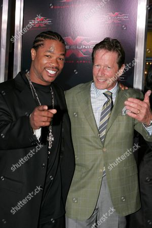 Xzibit and Peter Strauss
