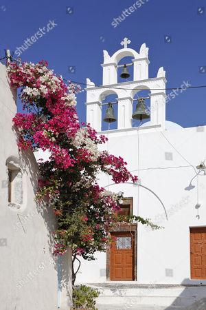 Small church, Emborio, Santorini, Greece