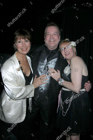 ANITA HARRIS WITH BOBBY CRUSH AND SU POLLARD