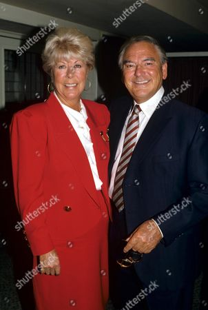 Bob Monkhouse with his wife Jackie