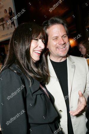 Director Anjelica Huston and Producer Larry Sanitsky