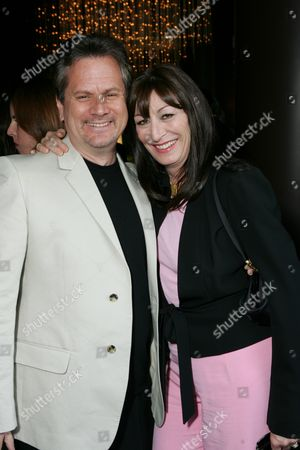 Producer Larry Sanitsky and Director Anjelica Huston