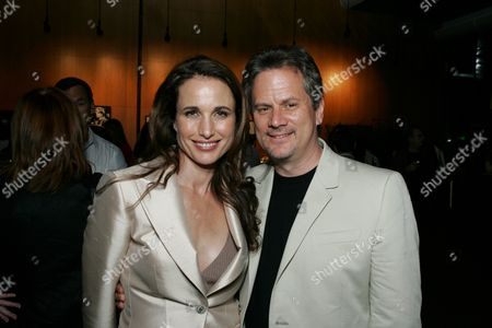 Andie MacDowell and Producer Larry Sanitsky
