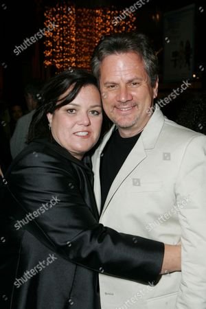 Rosie O'Donnell and Producer Larry Sanitsky