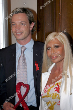Markus Langes Swarovski and Donatella Versace