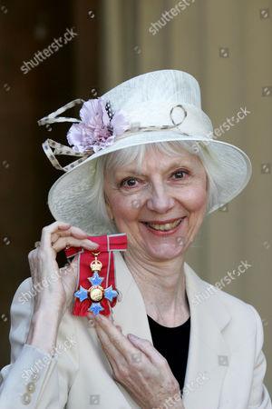 Anna Massey receives a CBE.