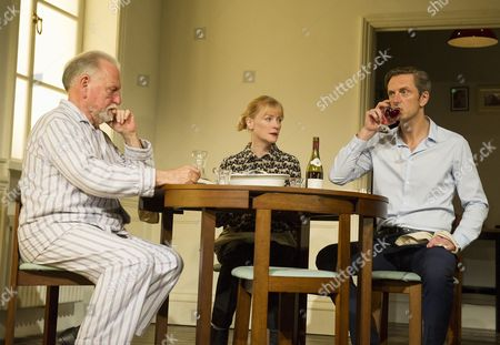 Kenneth Cranham as Andre, Claire Skinner as Anne, Nicholas Gleaves as Pierre