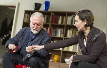 Kenneth Cranham as Andre, Rebecca Charles as Woman