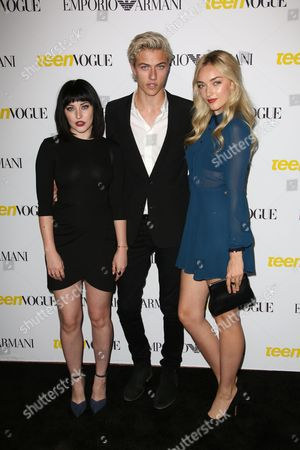 Daisy Clementine, Lucky Blue Smith and Starlie
