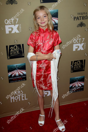 Editorial image of 'American Horror Story: Hotel' TV Series premiere, Los Angeles, America - 03 Oct 2015