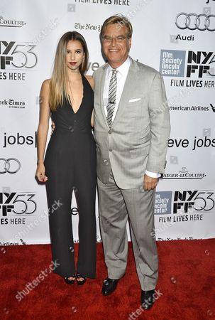 Roxy Sorkin and Aaron Sorkin