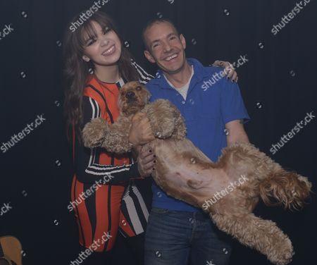 Hailee Steinfeld, Jeremy Joseph and his dog Jacob