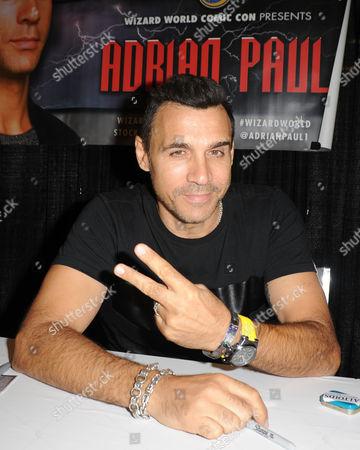 Stock Photo of Adrian Paul