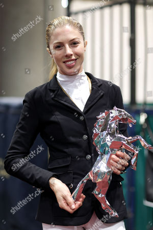 Hannah Selleck after her Canadian Pacific Grand Prix win