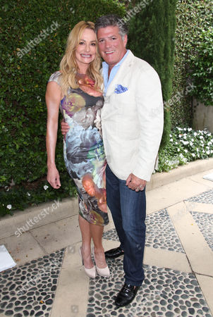 Taylor Armstrong and John Bluher