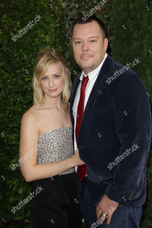 Beth Behrs and Michael Gladis