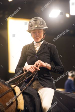 Hannah Selleck, Canadian Pacific Grand Prix Trophy Competition Winner, Prize Giving Ceremony