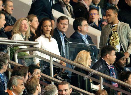 Rihanna and brother Rajad Fenty