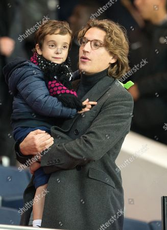 Jean Sarkozy and son Solal