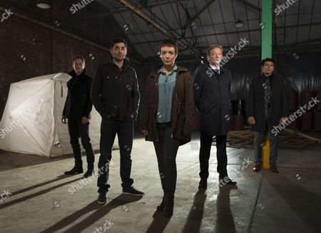 DS Lee Miekel [Andrew Knott] Jack Clark [Matthew McNulty], Jo Gillespie [Sheridan Smith], DS William Hepburn [Douglas Henshall] and DCI Jahan Kapoor  [Ace Bhatti].