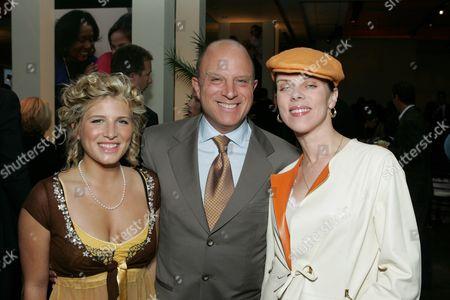 Kate Albrecht, HBO's Chris Albrecht and Debi Mazar