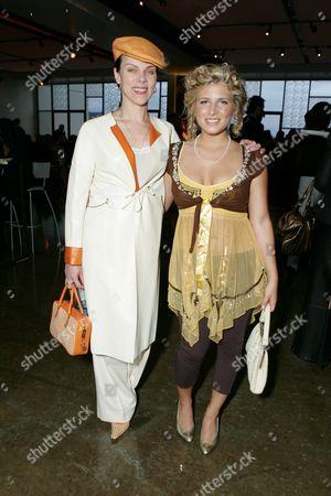 Debi Mazar and Kate Albrecht