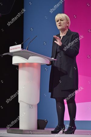 Labour Party Annual Conference At Manchester Central Greater Manchester. - Leader Of The Scottish Labour Party Johann Lamont Msp.22/9/14.
