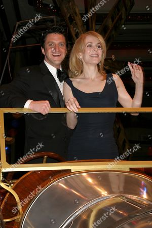 Raul Esparza with Erin Dilly