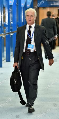 29/9/14 Conservative Party Conference At The Birmingham International Convention Centre.- Desmond Swayne.