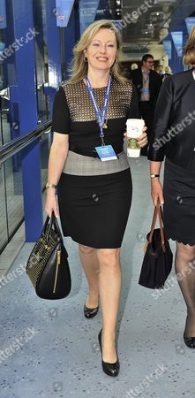29/9/14 Conservative Party Conference At The Birmingham International Convention Centre.- Ffion Hague.