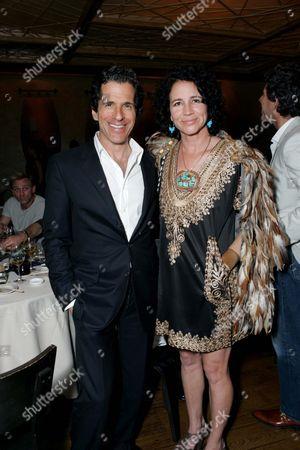 Nobu Dinner - Peter Morton and Lisa Eisner