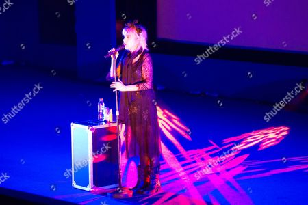Julee Cruise performing tracks from the soundtrack to Twin Peaks