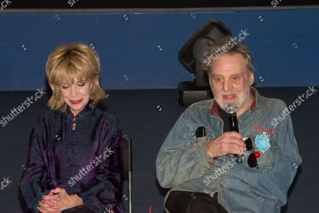 Stock Image of Julee Cruise and Al Strobel