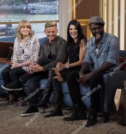 Sarah Powell, Jeff Brazier, Natalie Anderson and Anthony Brown