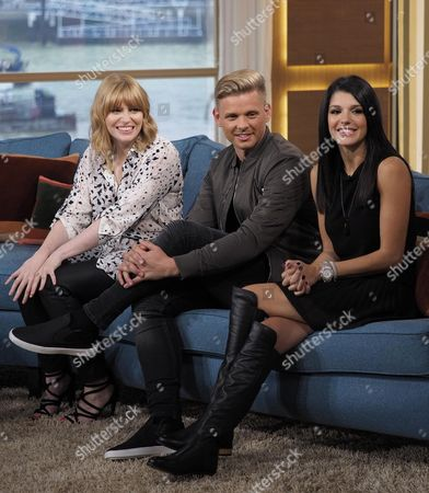 Sarah Powell, Jeff Brazier and Natalie Anderson