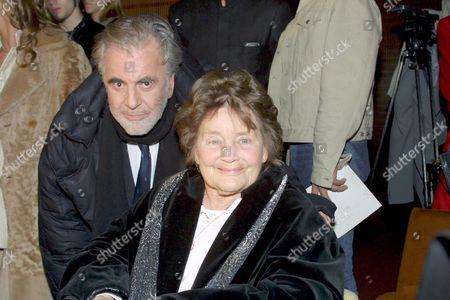 'Meine Schwester Maria' Film Premiere - Maximilan Schell and Maria Schell, Vienna, Austria - 27 Feb 2002