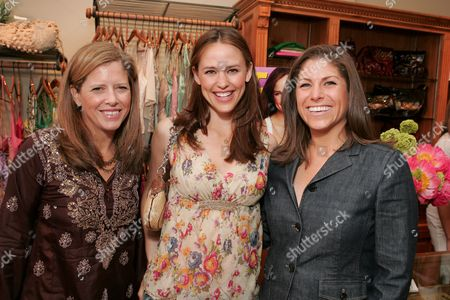 Lucy Danziger, Jennifer Garner and Kim Kelleher