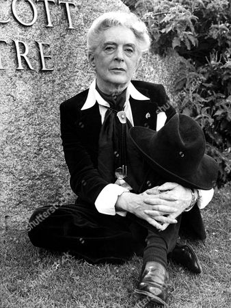 Stock Picture of Quentin Crisp