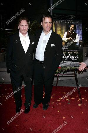 Mick Davis and Andy Garcia