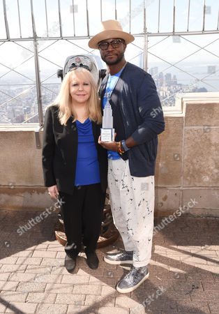 Stock Photo of Stomp Out Bullying CEO Ross Ellis and Taye Diggs