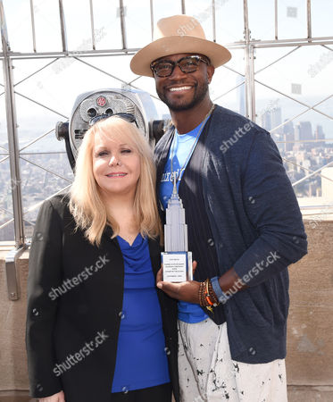 Stomp Out Bullying CEO Ross Ellis and Taye Diggs
