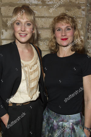 Stock Picture of Hattie Morahan and Jessica Swales