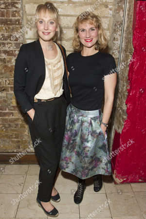 Stock Image of Hattie Morahan and Jessica Swales