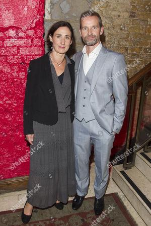 Stock Photo of Rebecca Charles (Woman) and Jim Sturgeon (Man)