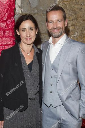 Stock Image of Rebecca Charles (Woman) and Jim Sturgeon (Man)